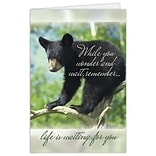 Medical Arts Press® Greeting Cards; Life is Waiting,  Blank Inside