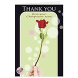 Medical Arts Press® Chiropractic Thank You Cards; Flower/Bubbles, Blank Inside
