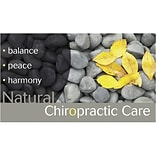 Medical Arts Press® Chiropractic Business/Appointment Cards; Balance, Peace, Harmony
