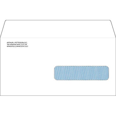 Imprinted Right Window Claim Form Envelopes