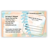 Medical Arts Press® Dual-Imprint Peel-Off Sticker Appointment Cards; Spine