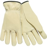 Lrg Cowhide Leather Drivers Gloves