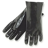 Lrg PVC Smooth Finish Dipped Gloves