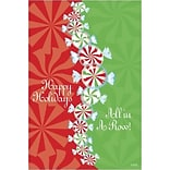 Medical Arts Press® Chiropractic Standard 4x6 Postcards; Happy Holidays - All In a Row