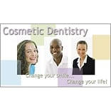 Design Line® Appointment Cards; Cosmetic Dentistry, Change your smile...Change your life!