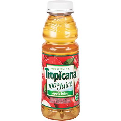 Tropicana® 100% Juice; Apple, 15.2-oz, 12/Case