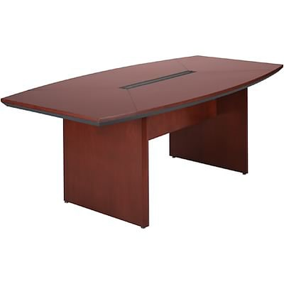 Mayline® Corsica Conference Tables In Sierra Cherry; 72