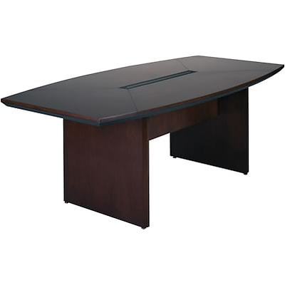 Mayline® Corsica Conference Tables In Mahogany; 72