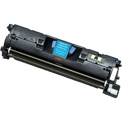 Quill Brand® HP 121/122 Remanufactured Cyan Laser Toner Cartridge, High Yield (C9701A) (Lifetime Warranty)
