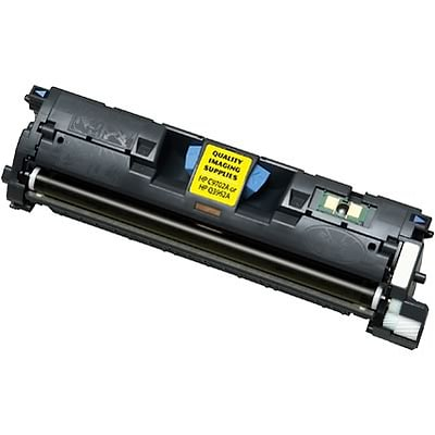 Quill Brand Remanufactured HP 122A (Q3962A) Yellow High Yield Laser Toner Cartridge (100% Satisfaction Guaranteed)