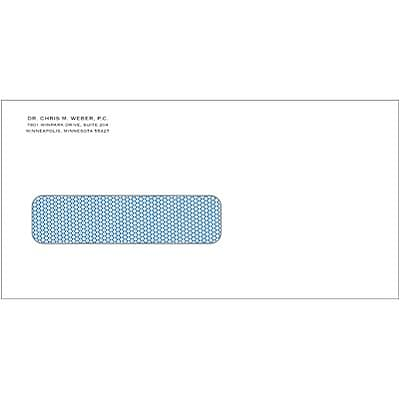 Medical Arts Press® Insurance Claim Form Envelopes; Personalized, Left Window, Self-Seal, 500/Box