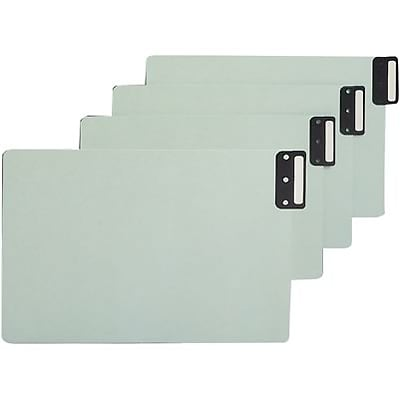 Smead® Vertical End-Tab Blank Guides; Legal Size