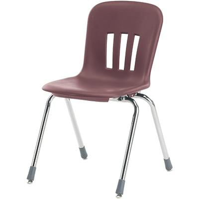 Virco® Metaphor™ 18 Stack Chair; Wine