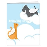 Medical Arts Press® Veterinary Sympathy Cards; Pet Heaven,  Personalized