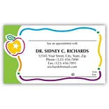 Medical Arts Press® Generic Full-Color Appointment Cards; Apple