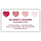 Classic© Laid 1-Color Heavyweight Business Cards; 120-lb., Stock Design