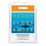 Medical Arts Press® Dental Personalized Full Color Bags; 9x13, Brush/Floss