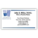 Classic Crest® Dental Design Choice Dental Business Cards; Cosmetic Dentistry