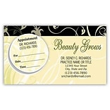 Medical Arts Press® Dual-Imprint Peel-Off Sticker Appointment Cards; Beauty Grows