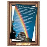 Medical Arts Press® Veterinary Frame Magnets - Rainbow Bridge