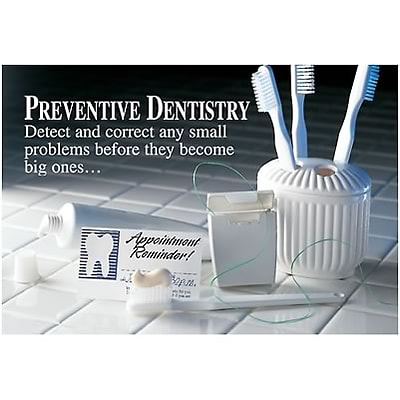 Medical Arts Press® Dental Laser Postcards; Preventive Dentistry