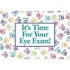 Medical Arts Press® Eye Care Standard 4x6 Postcards; Its Time For Your Exam