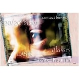 Medical Arts Press® Eye Care Standard 4x6 Postcards; 20/20 Vision