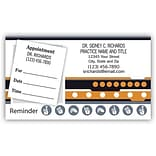 Medical Arts Press® Dual-Imprint Peel-Off Sticker Appointment Cards; Sign Language