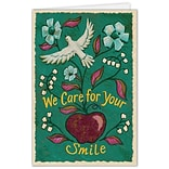 Medical Arts Press® Dental Greeting Cards; Dove Apple,  Personalized