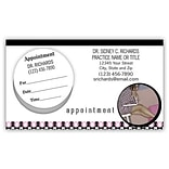 Medical Arts Press® Dual-Imprint Peel-Off Sticker Appointment Cards; Lap Top