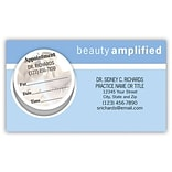 Medical Arts Press® Dual-Imprint Peel-Off Sticker Appointment Cards; Amplify