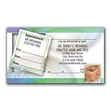 Medical Arts Press® Dual-Imprint Peel-Off Sticker Appointment Cards; Pastels