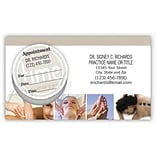 Medical Arts Press® Dual-Imprint Peel-Off Sticker Appointment Cards; Yourself