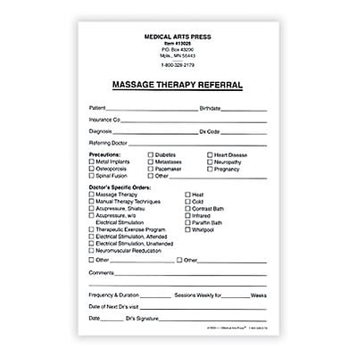 Referral form referral form example of an exercise for Doctor referral form template