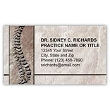 Medical Arts Press® Chiropractic Business Card Magnets; Fossil Spine