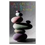 Medical Arts Press® Chiropractic Oversized Postcards; Balanced Rocks
