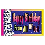 Medical Arts Press® Chiropractic Oversized Postcards; Smiley Spine Birthday