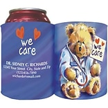 Custom Printed Full-Color Collapsible Koozie®; Dr. Bear