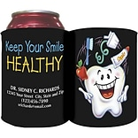 Custom Printed Full-Color Collapsible Koozie®; Tooth Guy