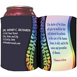 Custom Printed Full-Color Collapsible Koozie®; Holistic Care