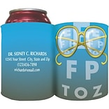 Custom Printed Full-Color Collapsible Koozie®; Glasses