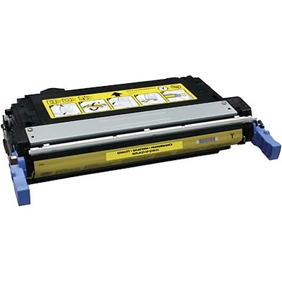 Quill Brand Remanufactured HP 643A (Q5952A) Yellow Laser Toner Cartridge (100% Satisfaction Guaranteed)