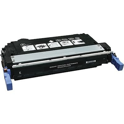 Quill Brand Remanufactured HP 643A (Q5950A) Black Laser Toner Cartridge (100% Satisfaction Guaranteed)