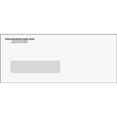 Single Window Security Check Envelopes for QuickBooks® and Quicken® Software; 8-3/4x3-5/8, 1000/Box