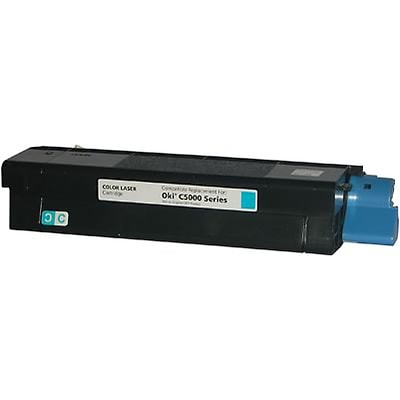 Quill Brand Compatible OKI® 42127403 Cyan High Yield Laser Toner Cartridge (100% Satisfaction Guaranteed)