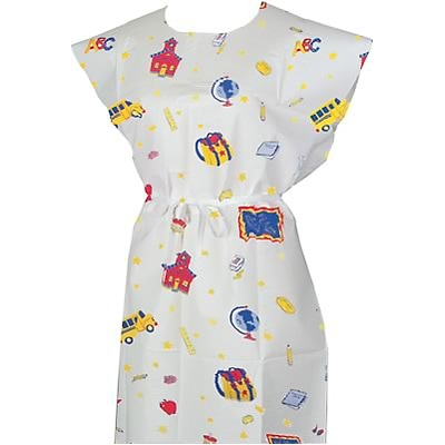 TIDI® Childs Gown; Schooltime Print