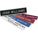 Engraved Signs with Holders; 8x2, Desk Name Sign