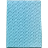 Encore™ Poly-back Towels; Blue