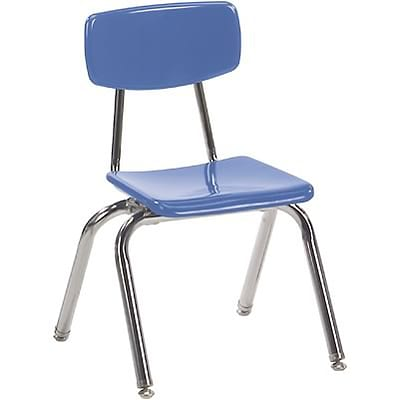 Virco® 14 Stack Chair for Grades 1 & 2; Blueberry