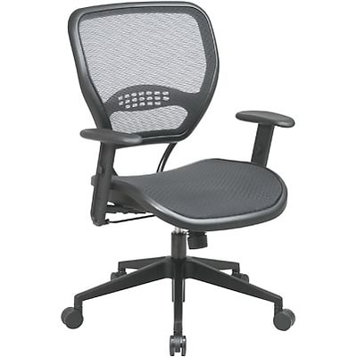 Office Star SPACE® Air Grid™ Deluxe Mesh Managers Chair, Seat: 20 1/2W x 19 1/2D, Back: 20 1/2W x 19H